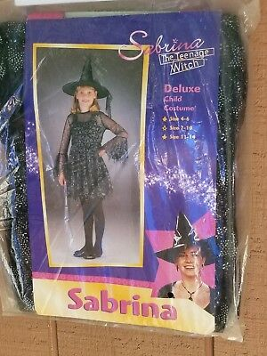 SABRINA THE TEENAGE WITCH COSTUME by DISGUISE - CHILDS SIZE 7-10