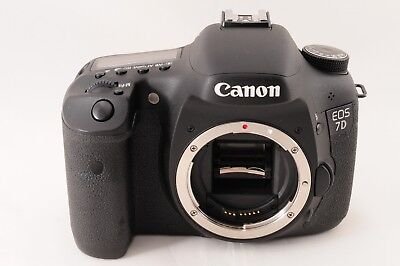 Canon EOS 7D body Low Shutter count 18.0MP DSLR Camera Exc from Japan #2330