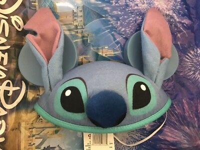 Disney Stitch Ears Mickey Mouse Hat Cap Lilo And Stitch NEW WITH TAGS