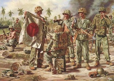 TROPHIES - VICTORY AT TARAWA by Reeves USMC Marines WW2