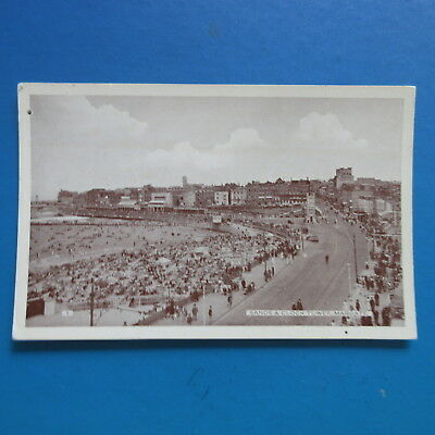 Old  Postcard of The Sands and Clock Tower,  Margate.