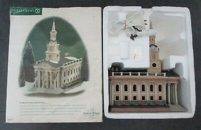 Dept 56 St. Martin in the Field Church WITH CROSS Dickens Village Series