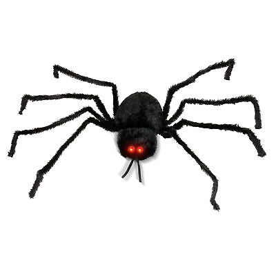 Halloween Haunters Animated 5ft Scary Spider Moving Shaking Head Prop Decoration