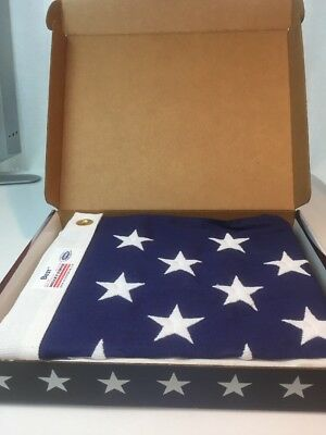 Valley Forge US American Flag 3'x5' BEST Cotton - Commercial Grade USA