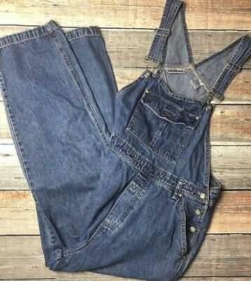 Vintage Bill Blass Overalls Womens M Cropped Jeans