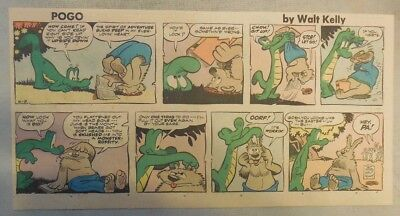 Pogo Sunday by Walt Kelly from 6/8/1958 Third Page Size!