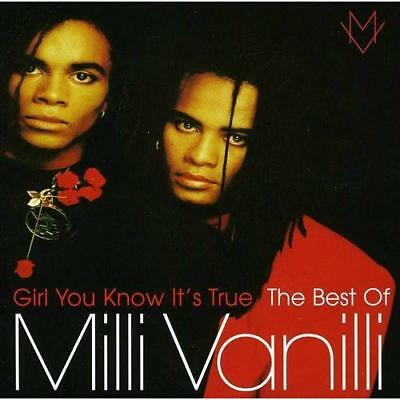 Girl You Know It's True - The Best Of Milli Vanilli Milli Vanilli Audio CD