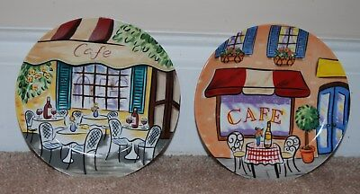 "Avon China French Cafe Small Dessert Plates 6"" set of 2"