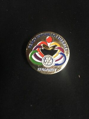 Rotary International Lapel Pin, Hat Pin, Tie Tac