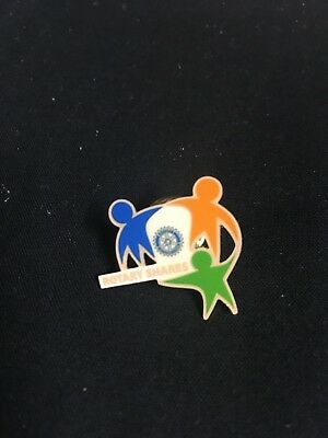 Rotary International,Rotary Shares Lapel Pin, Hat Pin, Tie Tac,