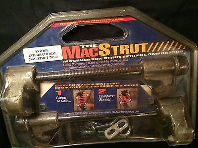K-Tool 70370 Mac Strut Compressor Tool Kit In Original Package