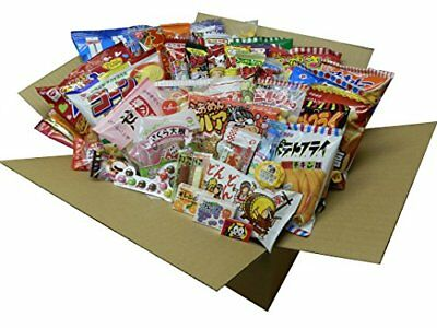 F/S Japanese snacks Assorted 80 pieces chips salty snack etc Lot Sale From japan
