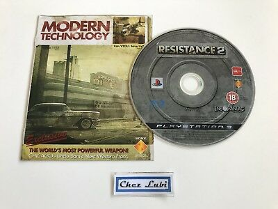 Resistance 2 - Sony PlayStation PS3 - PAL FR - CD Avec Notice FR