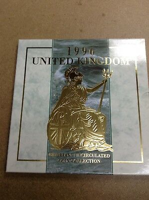 United Kingdom - UK / GB - 1996 - 8 Coin Brilliant Uncirculated Set