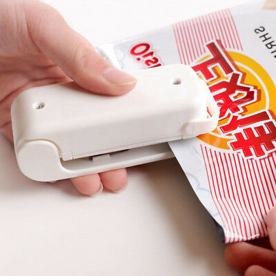 Mini Portable Heat Sealing Machine Impulse Plastic Bag Sealer Tool Food Packing