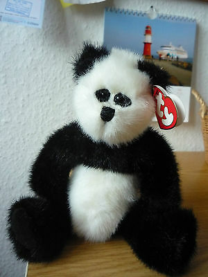 Ty Attic Treasures. CHECKERS ,der Pandabär 23 cm