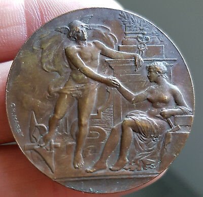 France - Francia - Medaille Bronze - Ref:cp27.