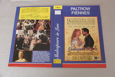 JAQUETTE VHS -  Shakespeare in love