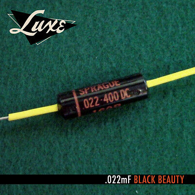 LUXE 1960-1970 Oil-Filled .022mF Black Beauty Capacitor