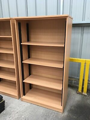 Tall 6ft Office/Home Wooden Shelves/Storage Unit ~ 1830 X 1000 X 500 ~ 3 Shelves