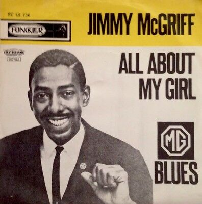 """🔝Jimmy McGriff🔝-New-Unplayed-7""""Vinyl-All about my girl/Blues-Funkler. 42.736"""