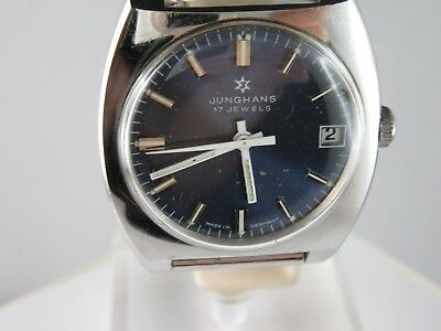 J848 ⭐⭐Vintage Junghans Hand Wound Good Condition ⭐⭐