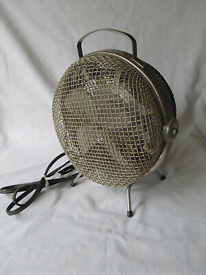 Vintage OHM-RITE Model FH-503 Electric Heater with Fan. Tested Working