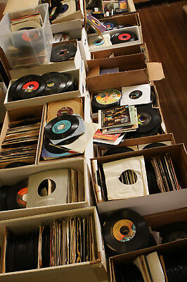 "50 Premium 45 rpm 7"" Record LOT Vinyl ep Decorating & Crafts Jukebox records"