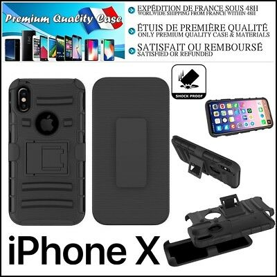 """Etui Coque Housse Hybride Defender Shockproof Case Cover iPhone X  5.8"""" inch"""