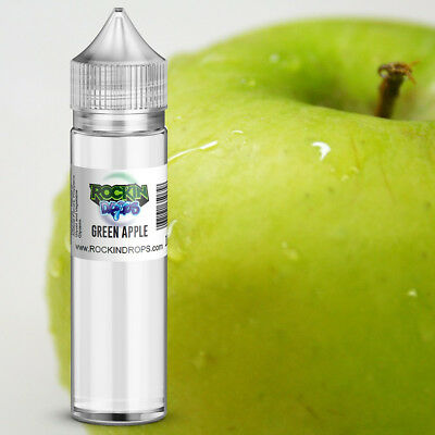 ROCKINDROPS Green Apple Food Flavor Flavoring Concentrate TFA 10ml 30ml 50ml
