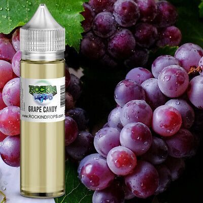 ROCKINDROPS Grape Candy Food Flavor Flavoring Concentrate TFA 10ml 30ml 50ml
