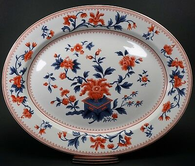 Early Royal Worcester Vitreous Extra Large Imari Design Platter