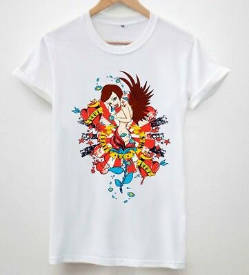 3c461ee9d876 Love Angel fashion Celine trendy wasted youth tumbler mens unisex tshirts
