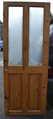 English victorian style glass internal door R691. SHIPPING INSURANCE INCLUDED
