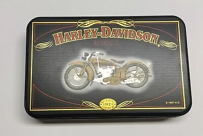 Harley Davidson Limited Edition Playing Cards with Tin, 1997