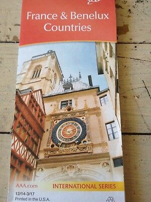 France Belgium Netherlands Luxembourg International Series New Map Free Shipping