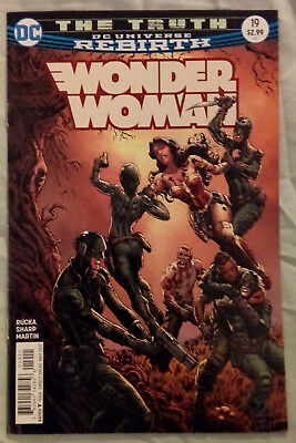 WONDER WOMAN (Vol 5) #19 by Greg Rucka and Liam Sharp: THE TRUTH - DC REBIRTH