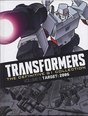 TRANSFORMERS (THE DEFINITIVE G1 COLLECTION) Volume 6 TARGET: 2006 HARDBACK VGC