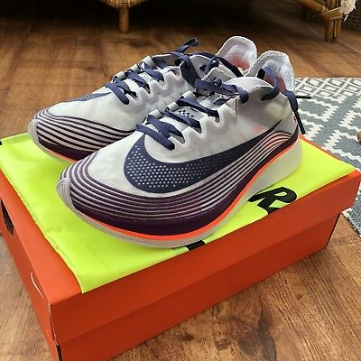 on sale e26db 30735 NIKE LAB ZOOM Fly Sp Neutral Indigo Flyknit React Flyknit Indigo corriendo  Limited ba7c4d