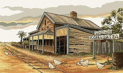 Oodnadatta Railway - Counted Cross Stitch Chart from Country Threads