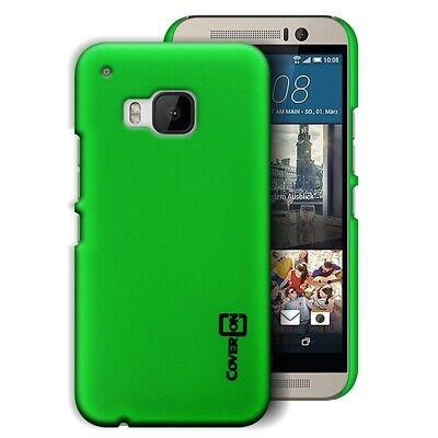 Lime Green Hard Case for HTC One M9 - Slim Fit Matte Back Phone Cover