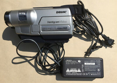 sony ccd trv118 hi8 8mm video8 hi 8 camcorder video transfer ccd rh picclick com Sony Handycam Manually Eject Sony Fx525 CCD Handycam Charger