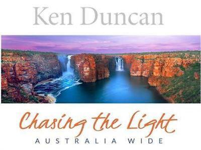 Chasing the Light: Australia Wide by Ken Duncan Hardcover Book Free Shipping!