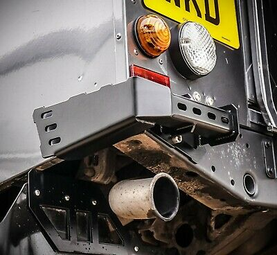 Land Rover Defender Stainless Steel Renegade Rear Bumperettes 110 - Uproar 4x4