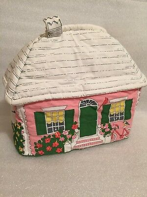 Cuckoobird Tea Cozy Pink Cottage Design Vintage Kent England
