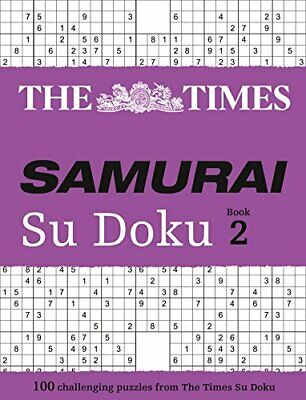 The Times Samurai Su Doku 2: 100 extreme pu... by The Times Mind Games Paperback