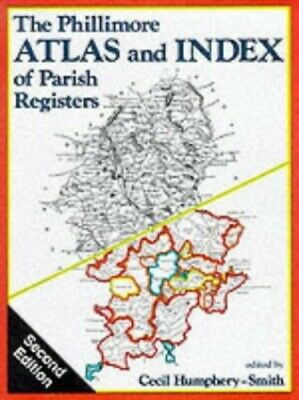 The Phillimore Atlas and Index of Parish Registers Hardback Book The Cheap Fast