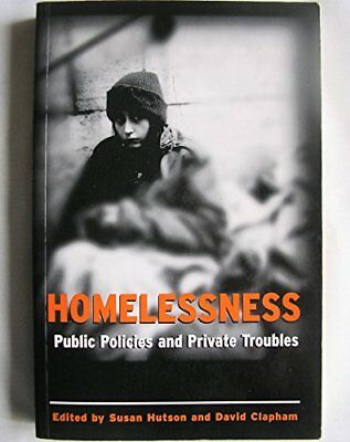 Homelessness: Public Policies by Hutson, Susan Paperback Book The Cheap Fast