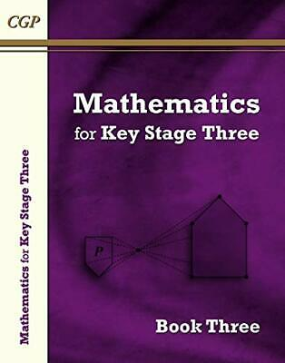 KS3 Maths Textbook 3 (CGP KS3 Maths) by CGP Books Book The Cheap Fast Free Post