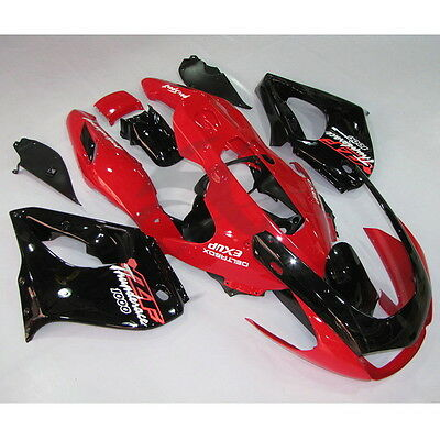 Red Black ABS Fairing Bodywork Kit Fit YAMAHA YZF 1000 YZF1000R 1996-2003 02 01